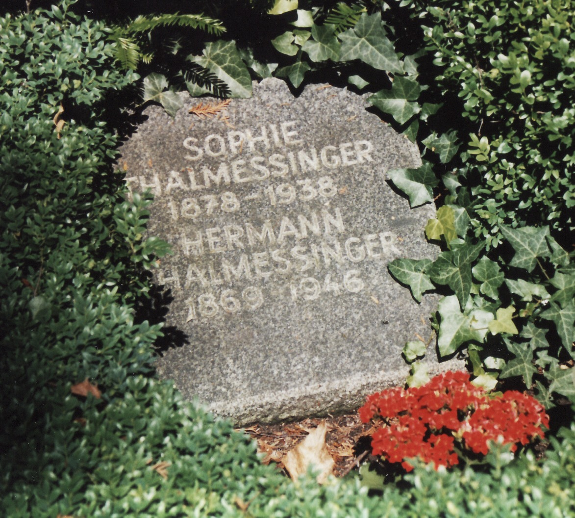 Hermann Thalmessinger Grab