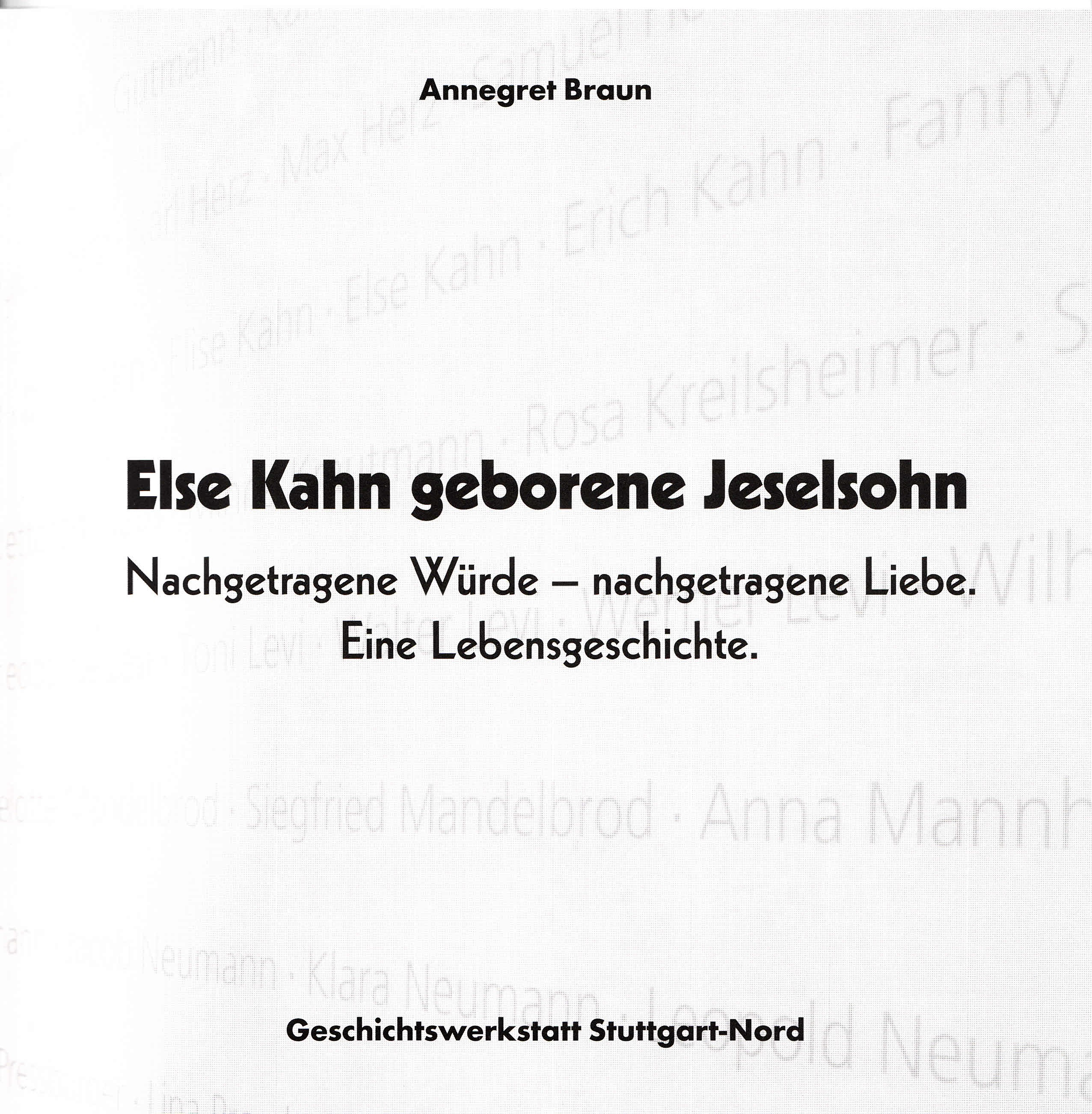 Else-Kahn-Brosch�re